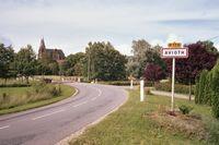 Een kleine plaats met een grote kathedraal: Avioth