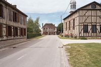 Vakwerkhuizen te Mesnil-la-Comtesse
