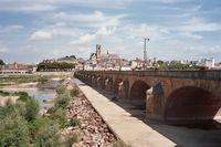 Brug over de Loire bij Nevers
