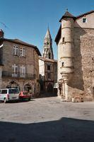 Het oude centrum van St. Léonard-de-Noblat