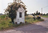 Het bekende kapelletje bij Badia Polésine.