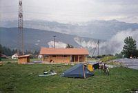 De nieuwe camping te Carrera