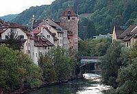 Brügg - 'Schwarze Turm' aan de Aare
