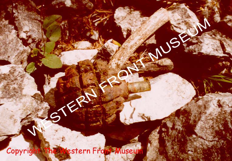 Copyright of The Western Front Museum